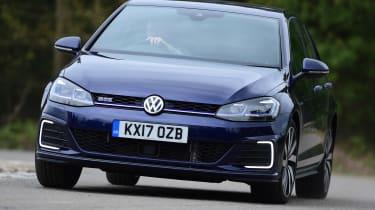 Volkswagen Golf GTE - front cornering
