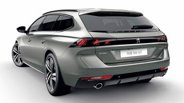 Peugeot 508 SW - rear