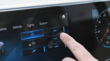 Mercedes EQC - long termer screen