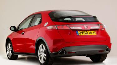 Honda Civic Mk8 - rear static