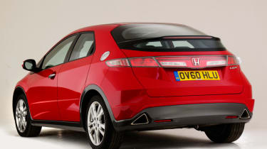 Honda Civic Mk8 - rear static