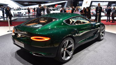 Bentley EXP 10 Speed 6 feature - motor show rear