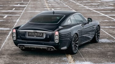 David Brown Automotive Speedback Silverstone edition static rear