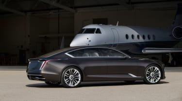 Cadillac Escala concept - rear three quarter