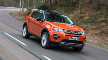 Land Rover Discovery Sport long-term - front tracking
