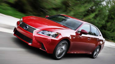 Lexus GS front tracking