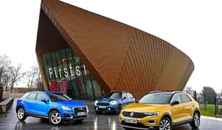 Volkswagen T-Roc vs Audi Q2 vs MINI Countryman - head-to-head