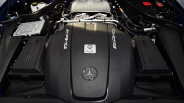 Mercedes-AMG GT R Roadster - engine