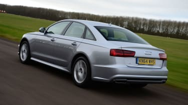 Audi A6 - rear tracking