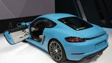Porsche 718 Cayman - Beijing Show - rear