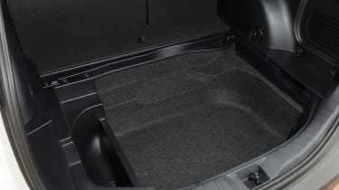 Toyota RAV4 boot detail