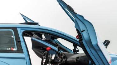 Hyundai RN30 Concept - doors