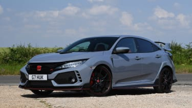 Honda Civic Type R - front static