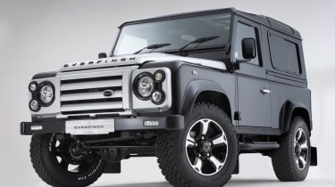 Overfinch Defender 40th Anniversary static