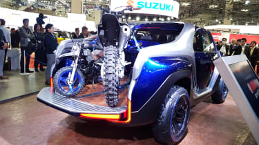 Yamaha Cross Hub concept rear