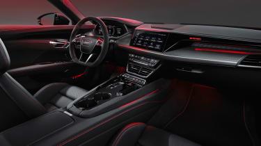 Audi RS e-tron GT - cabin