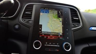 New Renault Megane 2016 hatchback GT portrait screen