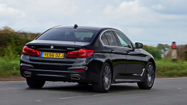 BMW 5 Series - second report rear