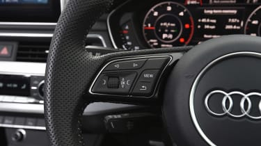 Audi A5 - steering wheel