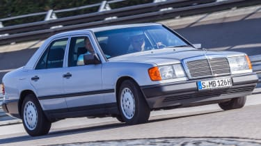 70 years of Mercedes E-Class - W124