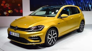 New 2017 Volkswagen Golf reveal - front
