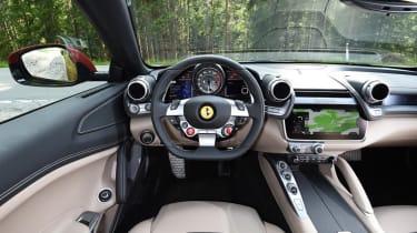 Ferrari GTC4 interior - Footballers' cars