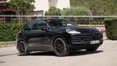 Porsche Cayenne prototype - front static