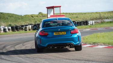 BMW M2 group - rear cornering