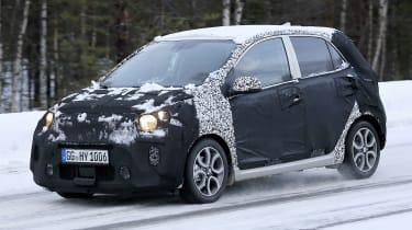 2020 Kia Picanto - spies - front tracking