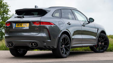 Jaguar F-Pace SVR - rear 3/4 static