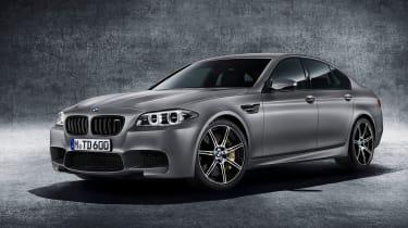 BMW M5 30 Jahre  front