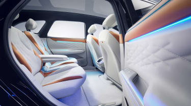 Volkswagen ID. Space Vizzion - rear seats