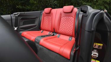 Audi S5 Cabriolet - back seats