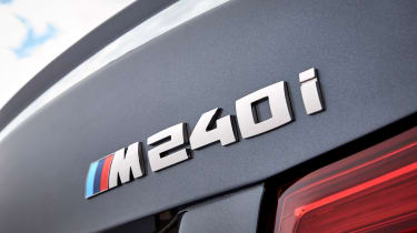 BMW M240i Coupe facelift review - badge