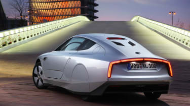 VW XL1 rear static
