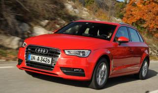 Audi A3 Sportback front action