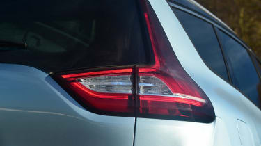 Renault Grand Scenic - rear light detail