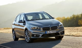 BMW 2 Series Active Tourer 2014 front tracking