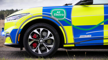 Ford Mustang Mach-E police car concept