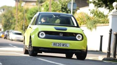 Honda e long termer first report front tracking