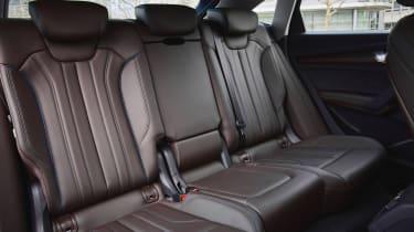 Audi Q5 Sportback - rear seats