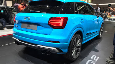 Audi SQ2 - Paris rear static