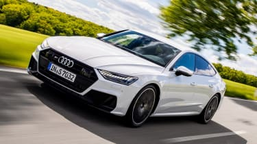 New Audi S7 Sportback - front