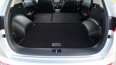 Kia Sportage - seats down