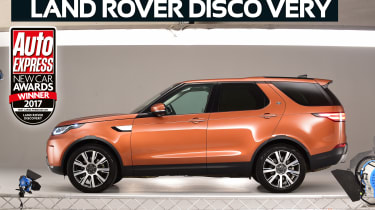 Large Premium SUV of the Year 2017 - Land Rover Discovery