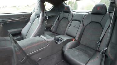 Maserati GranTurismo MC Stradale rear seats