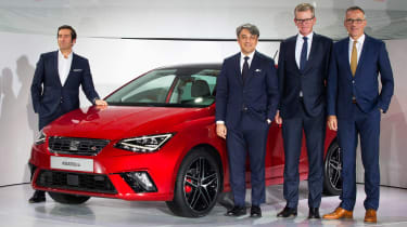 New SEAT Ibiza 2017 - launch event front