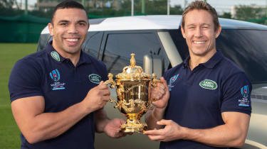 Bryan Habana and Johnny Wilkinson