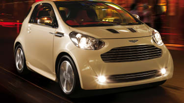 The Cygnet is based on Toyota's IQ city car.