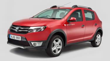 Used Dacia Sandero - front
